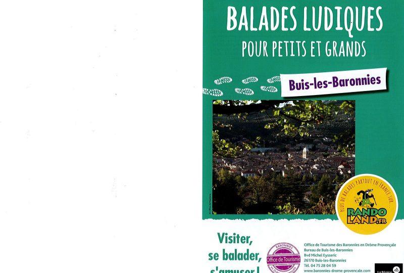 Balades ludiques pour petits & grands à Buis-les-Baronnies - 0
