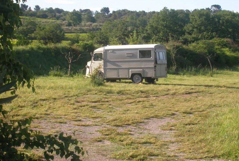 Aire de Camping-cars privée Domaine du Chêne Vert à Mirabel-aux-Baronnies - 1