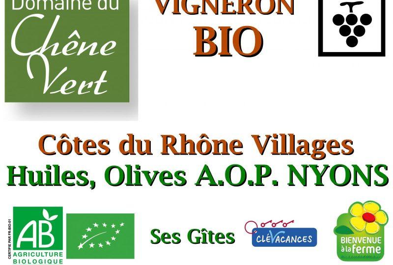 Aire de Camping-cars privée Domaine du Chêne Vert à Mirabel-aux-Baronnies - 0