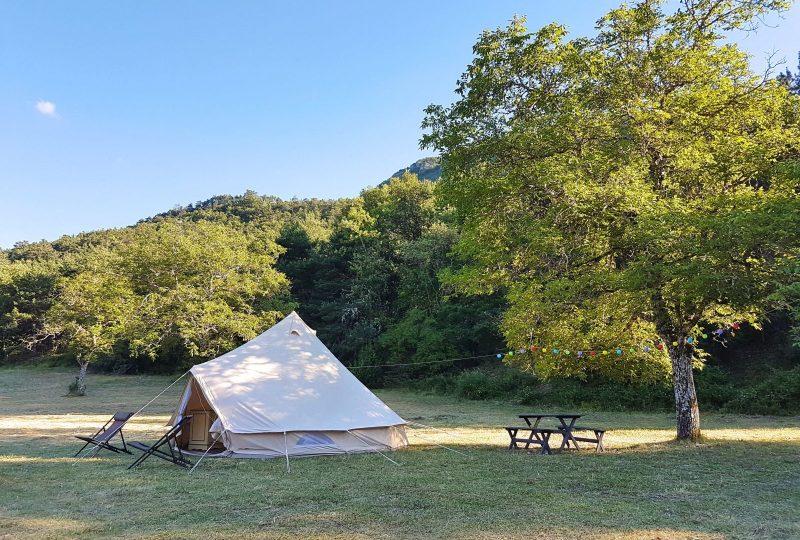la Ferme de Clareau Campsite à La Motte-Chalancon - 0