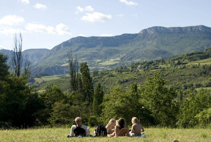 la Ferme de Clareau Campsite à La Motte-Chalancon - 4