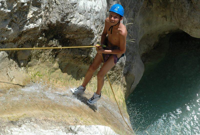 Canyoning (Baladez curieux) à Montbrun-les-Bains - 0