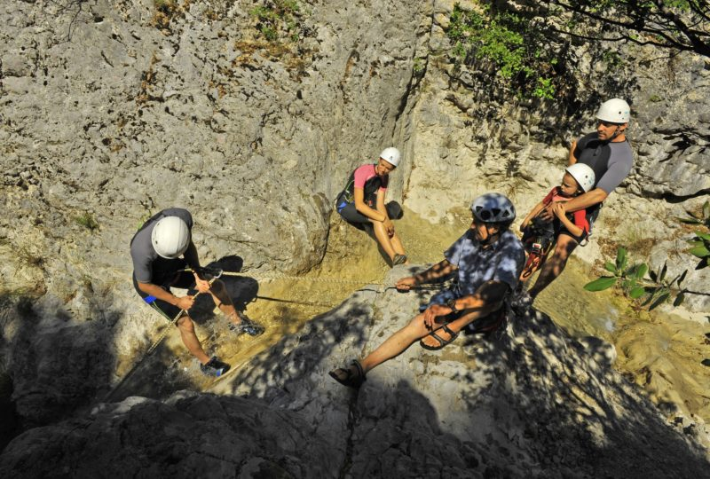 Canyoning à Reilhanette - 1