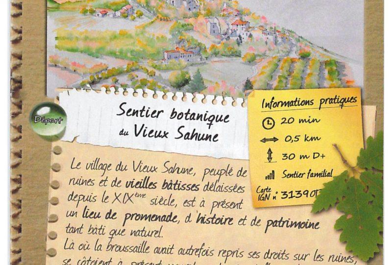 Botanische wandeling in het oude dorp van Sahune à Sahune - 0