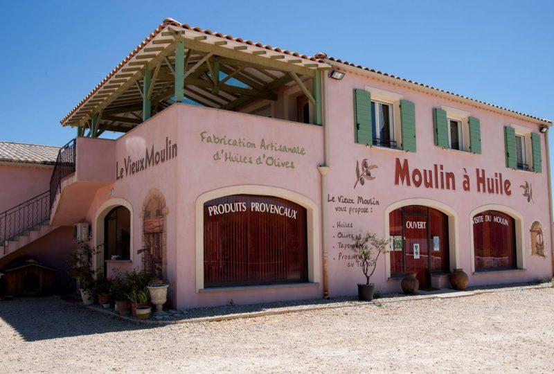Le Vieux Moulin à huile à Puyméras - 0