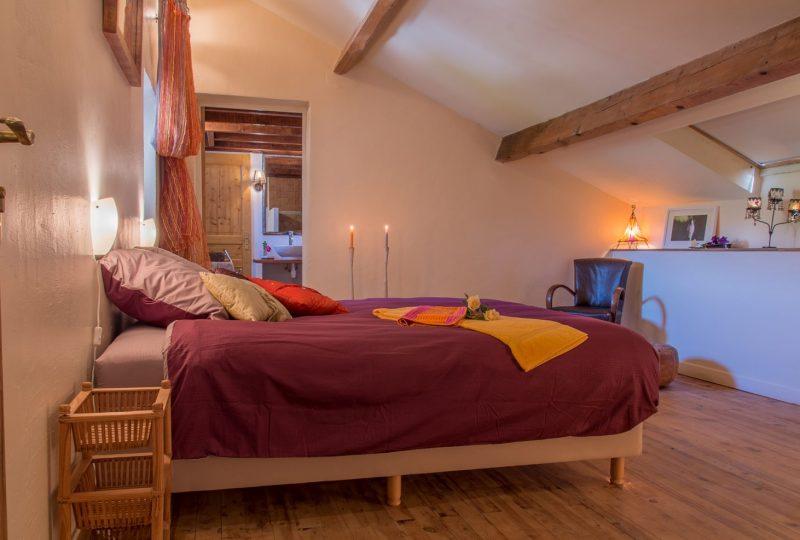 Hameau d'hôtes La Roseraie Drôme à Condorcet - 1