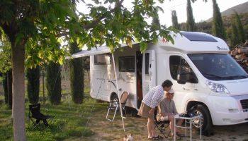 Aire de camping car du Domaine Rocheville