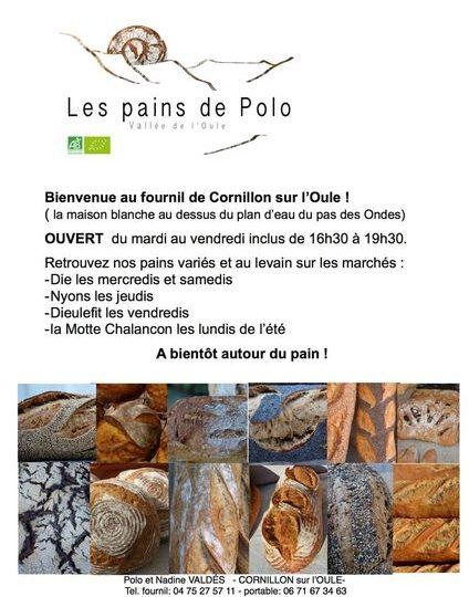 Les Pains de Polo à Cornillon-sur-l'Oule - 0