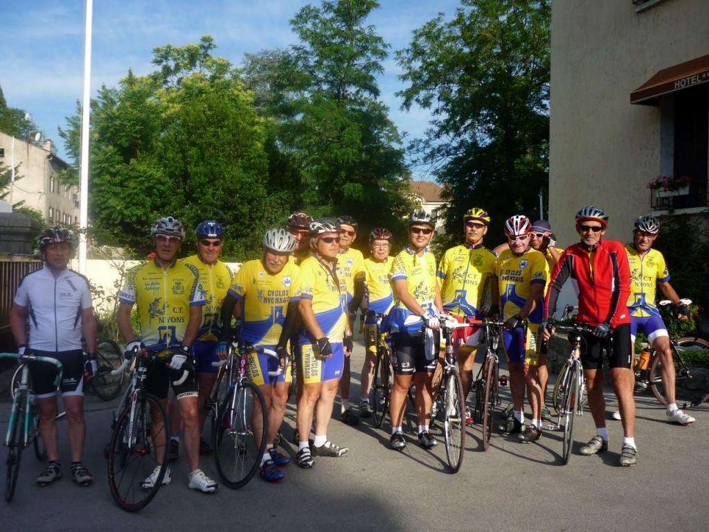 Sorties du Club «Cyclos Nyonsais»