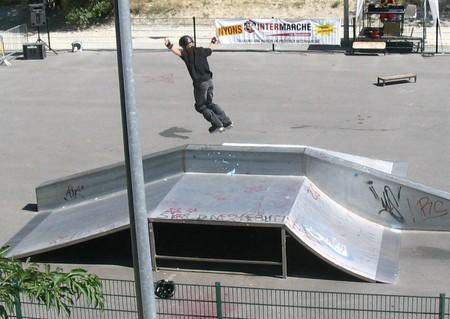 Skate Parc et terrain modulable à Nyons - 1