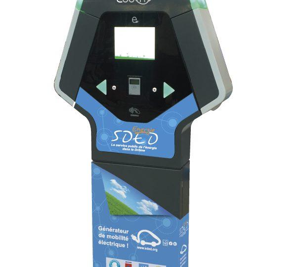 eborn – borne de recharge pour véhicule électrique à Séderon - 0