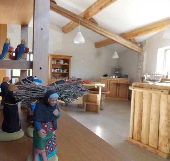 «Les 3 Souquets» – Atelier-boutique d'un santonnier à Séguret - 0