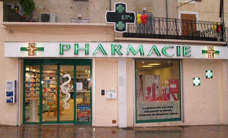 Pharmacie Mouton-Vallot à Nyons - 1
