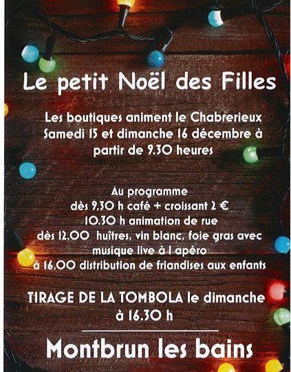 Le petit Noël des Filles à Montbrun-les-Bains - 0