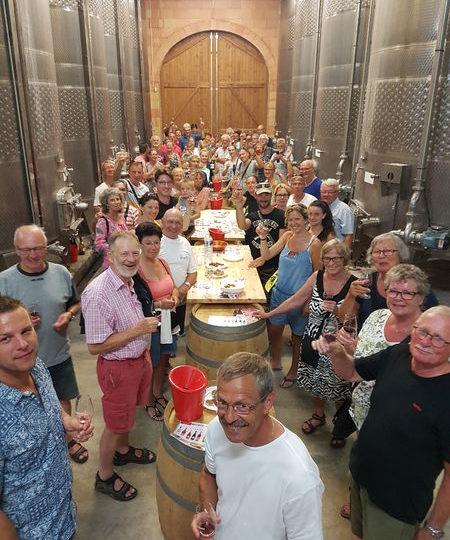 Visite des chais, dégustation des vins du domaine et apéritif (Baladez curieux) à Vinsobres - 0