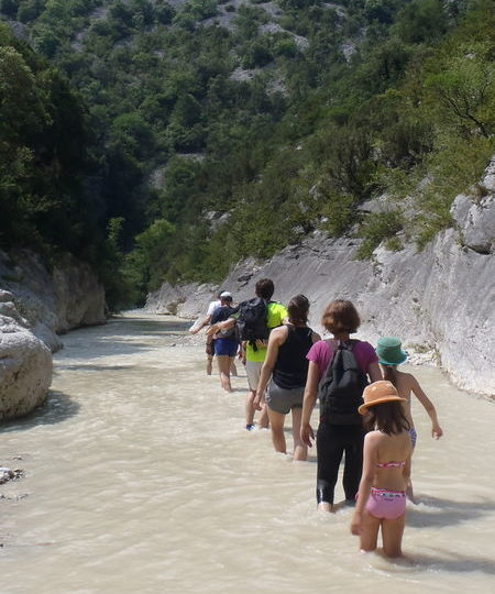Les secrets du Toulourenc partie haute (Baladez curieux) à Montbrun-les-Bains - 0