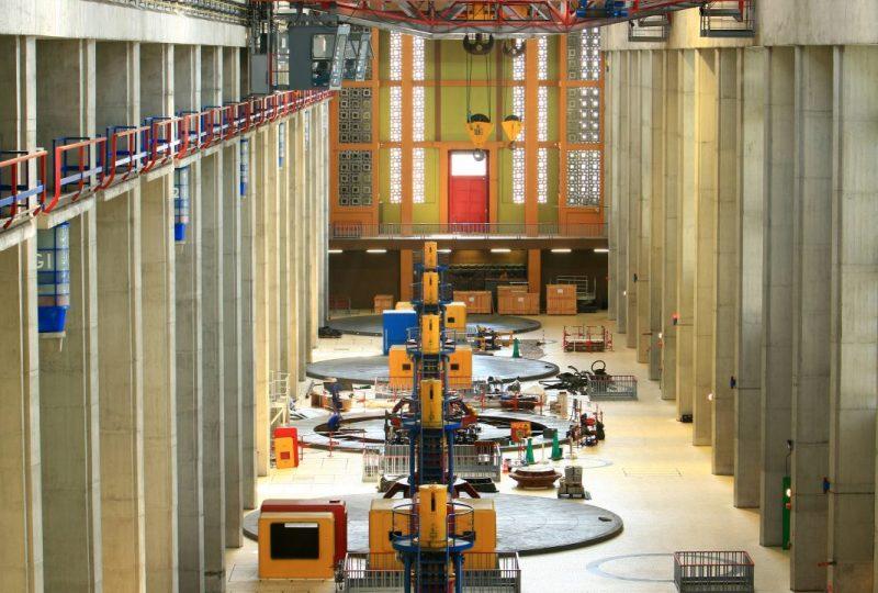 Centrale hydroélectrique André Blondel CNR à Bollène - 3