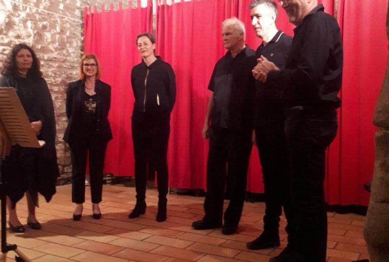Dîner concert polyphonies à Ferrassières - 1