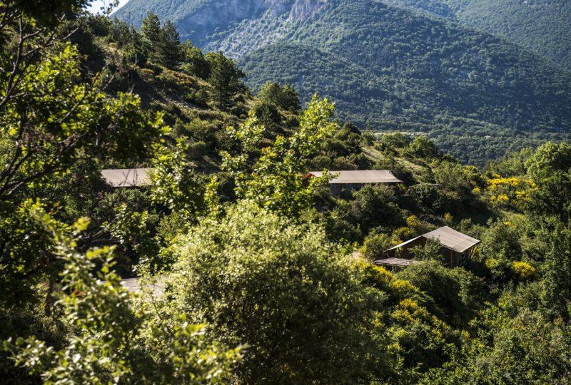 L'Osclaye-Ecolodges à Montbrun-les-Bains - 0