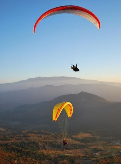 Vol en Parapente avec «Lou Ventoun» Vincent Perlbarg à Nyons - 0