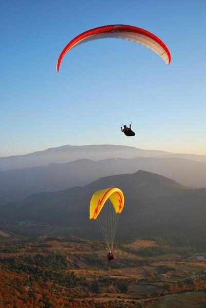 Vol en Parapente avec «Lou Ventoun» Vincent Perlbarg