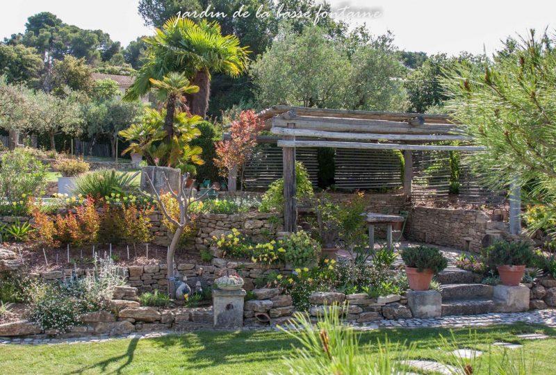 Le Jardin de la Basse Fontaine à Puyméras - 1