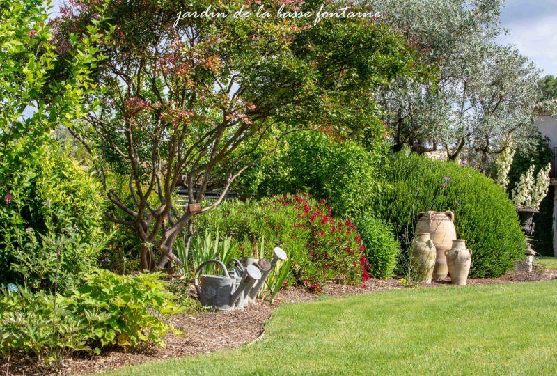 Le Jardin de la Basse Fontaine à Puyméras - 3