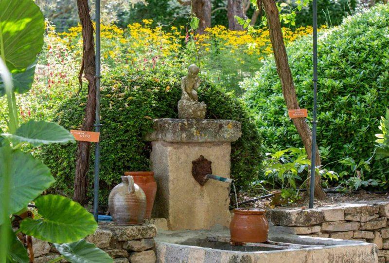 Le Jardin de la Basse Fontaine à Puyméras - 2