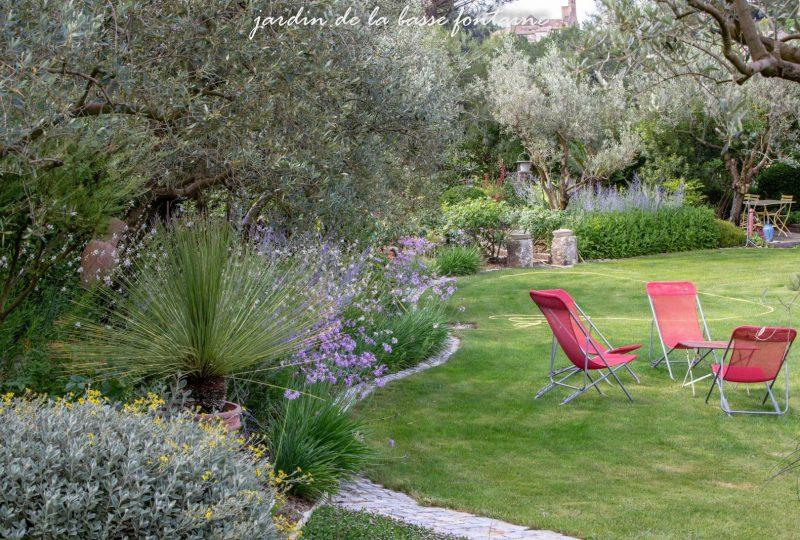 Le Jardin de la Basse Fontaine à Puyméras - 0