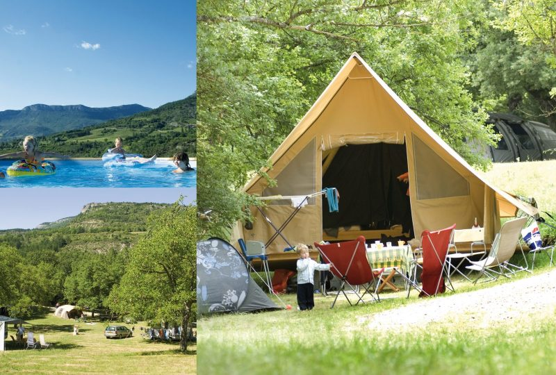 La Ferme de Clareau, Camping et Lodges à La Motte-Chalancon - 3