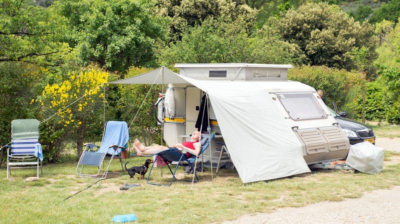 Camping la Fontaine d'Annibal à Buis-les-Baronnies - 2