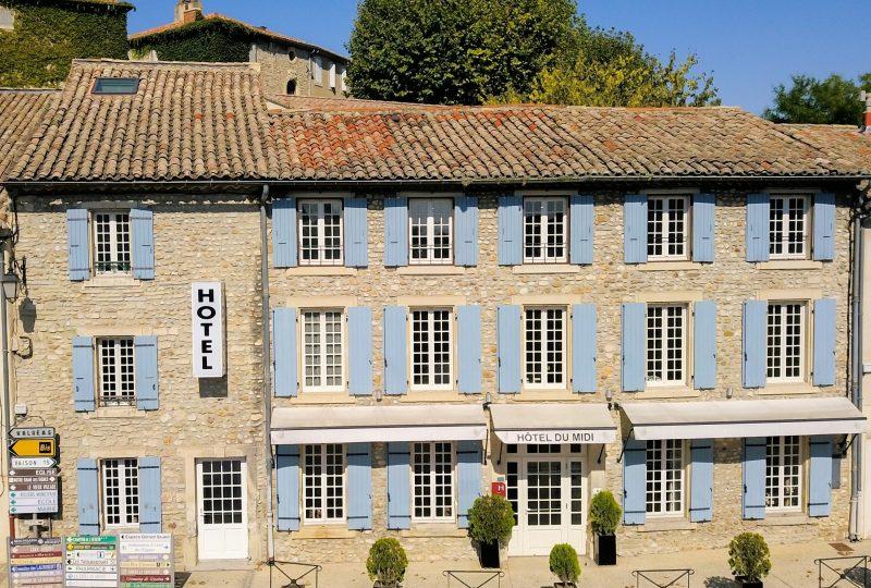Hôtel du Midi à Visan - 1