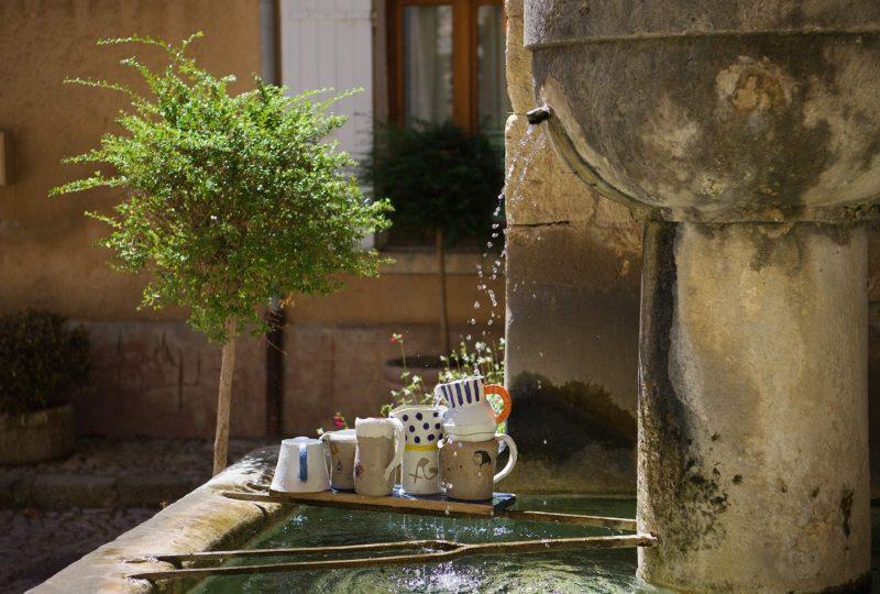 Sentier des fontaines à Montbrun-les-Bains - 0
