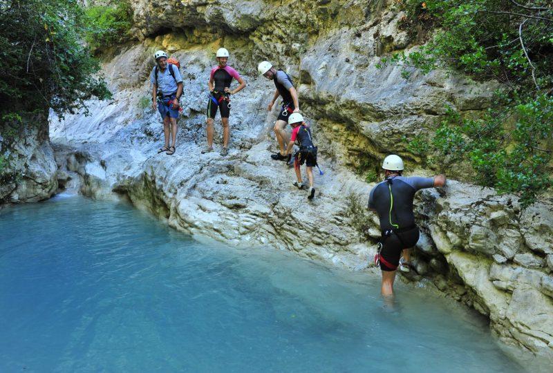 Canyoning (Baladez curieux) à Montbrun-les-Bains - 1